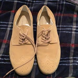 Men's Bass leather Oxford shoes